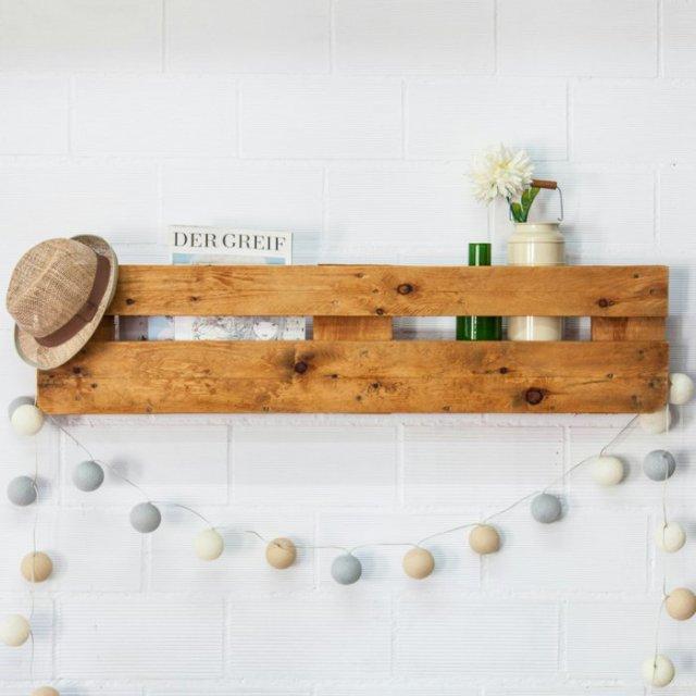 Ιδέες με ξύλινες παλέτες82