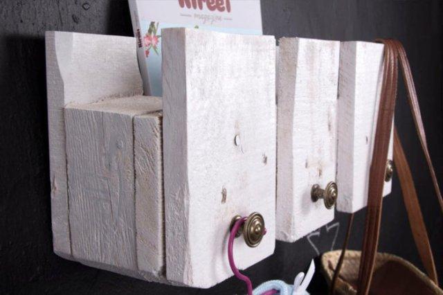 Ιδέες με ξύλινες παλέτες91