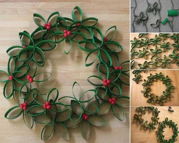 DIY Χριστουγεννιάτικες διακοσμήσεις17