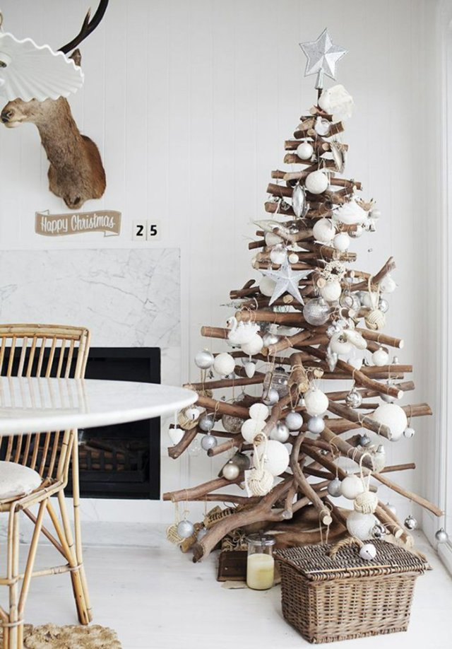 Χριστουγεννιάτικος στολισμός σε σκανδιναβικό στυλ37