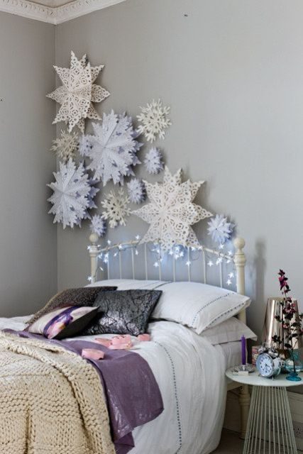 χριστουγεννιάτικες ιδέες διακόσμησης για τα δωμάτια των παιδιών24