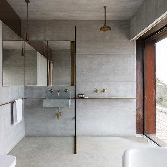 Μπετόν στο μπάνιο ιδέες14