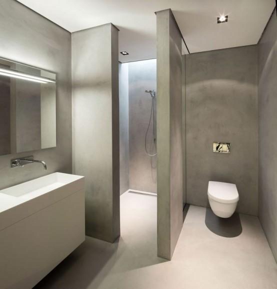 Μπετόν στο μπάνιο ιδέες19