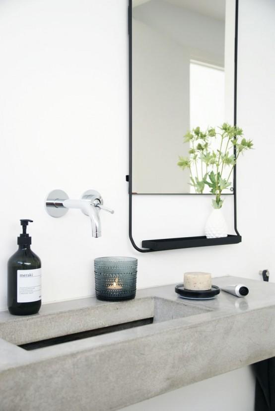 Μπετόν στο μπάνιο ιδέες32