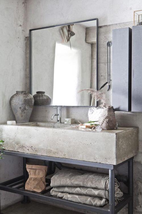 Μπετόν στο μπάνιο ιδέες34