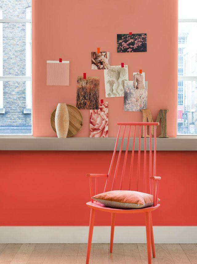 Ροδακινί χρώμα ιδέες30