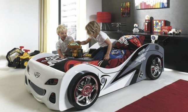Car beds for your child's room27