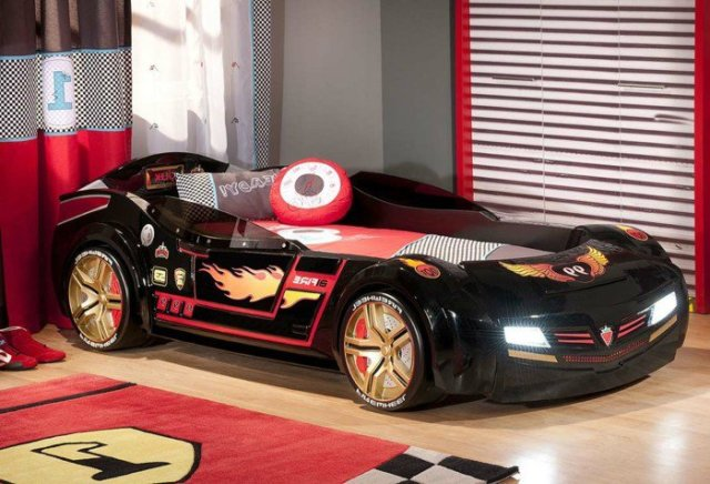 Car beds for your child's room3