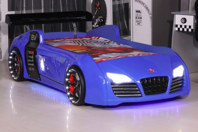 Car beds for your child's room35