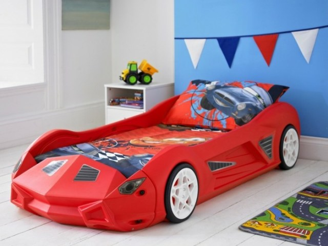 Car beds for your child's room38