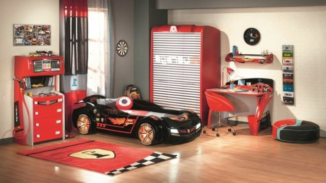 Car beds for your child's room9
