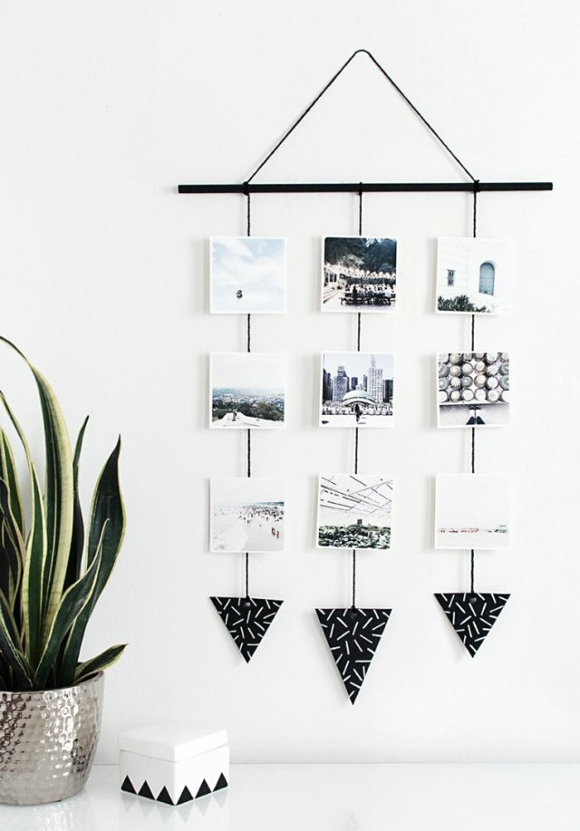 creative ideas to display pictures1