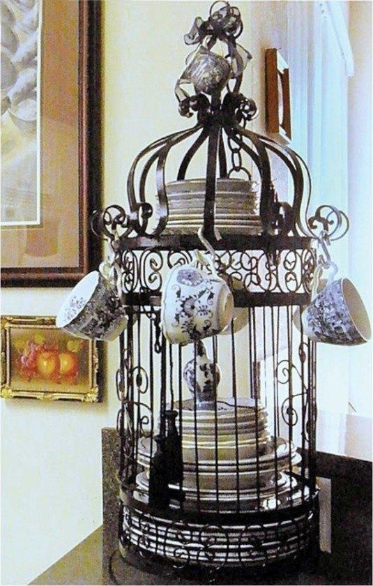κλουβιά πουλιών στην εσωτερική διακόσμηση32