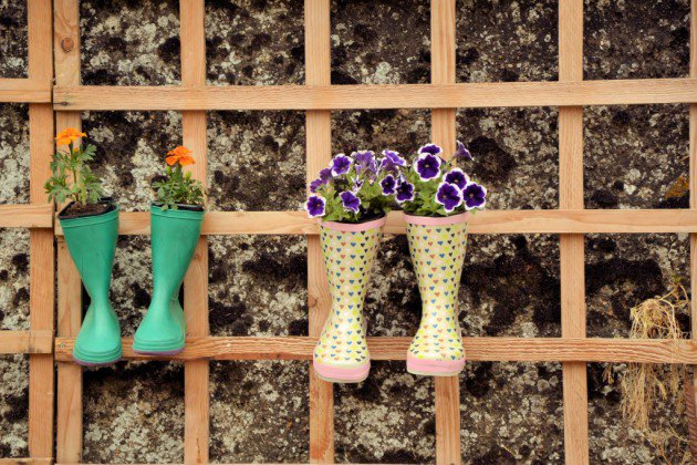 DIY διακοσμήσεις κήπου2