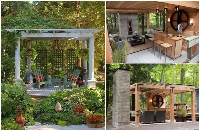 κήπος με πέργκολα ιδέες5