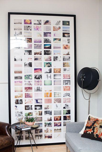 ιδέες για Instagram Gallery ντεκόρ τοίχου15
