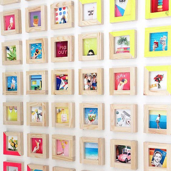 ιδέες για Instagram Gallery ντεκόρ τοίχου8