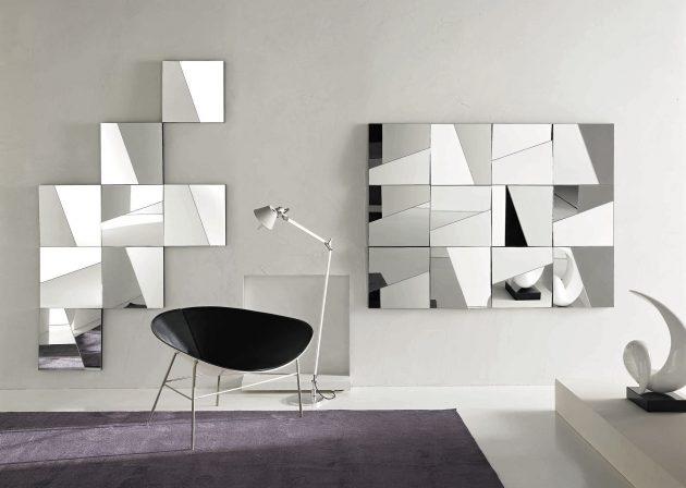 κομψά σχέδια καθρεπτών τοίχου4