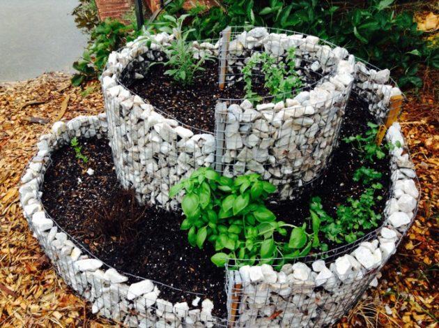 σπιράλ σχέδια κήπου1