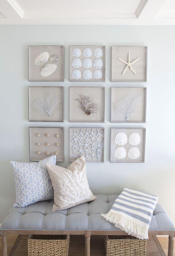 Diy ιδέες θαλασσινής διακόσμησης τοίχου4