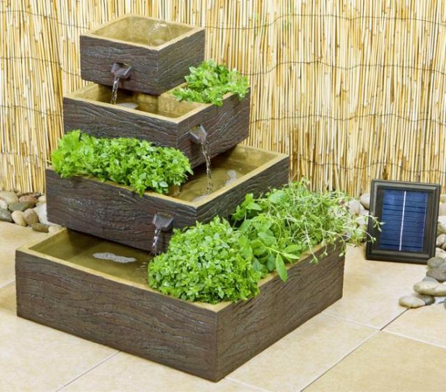 ξύλινα σιντριβάνια κήπου4