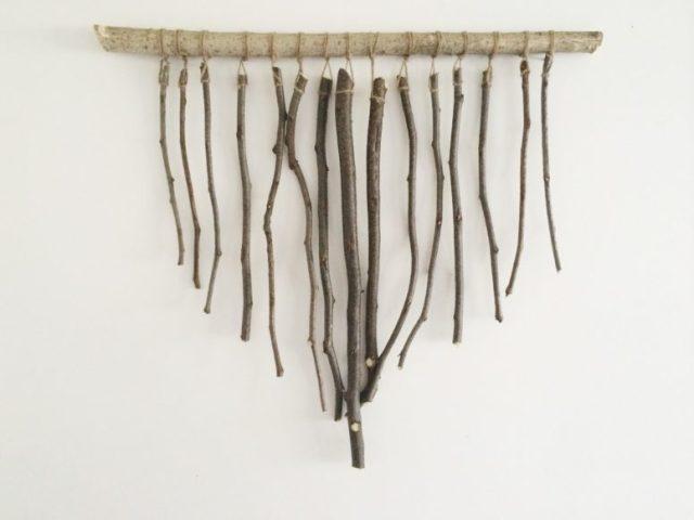 DIY διακοσμήσεις με κλαδάκια για την άνοιξη6