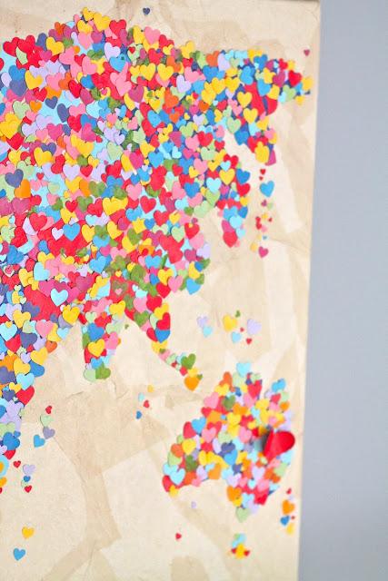 Diy United Colors of Love Παγκόσμιος Χάρτης10
