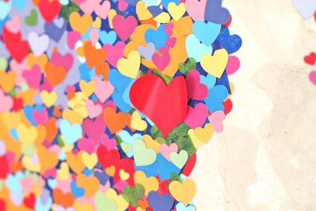 Diy United Colors of Love Παγκόσμιος Χάρτης9