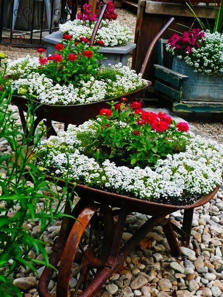 Έμπνευσμένες γλάστρες λουλουδιών8