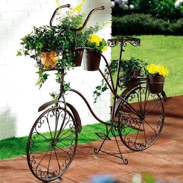 Ιδέες για γλάστρες με παλιά ποδήλατα14