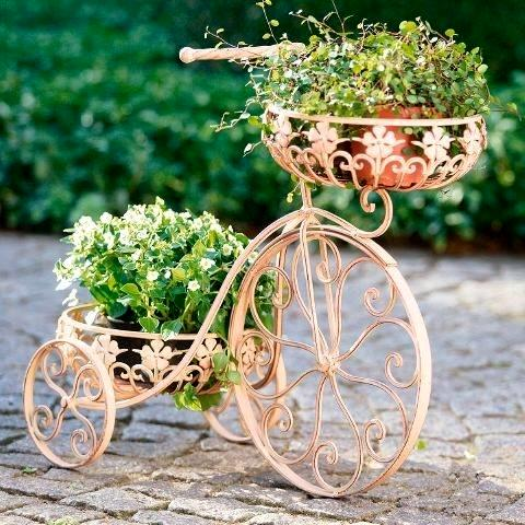 Ιδέες για γλάστρες με παλιά ποδήλατα15
