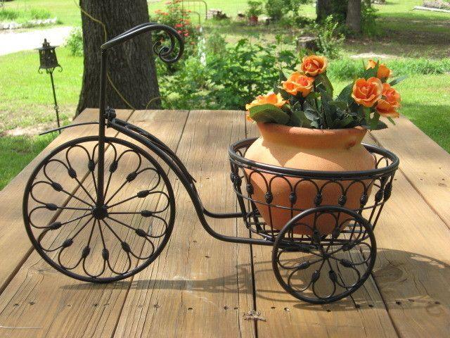 Ιδέες για γλάστρες με παλιά ποδήλατα8