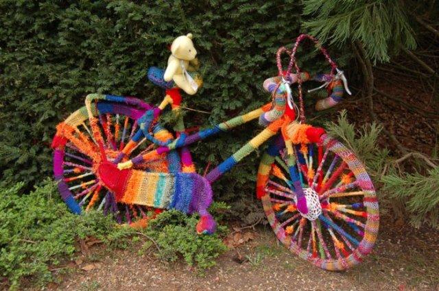 διάκοαμηση κήπου με ποδήλατα17