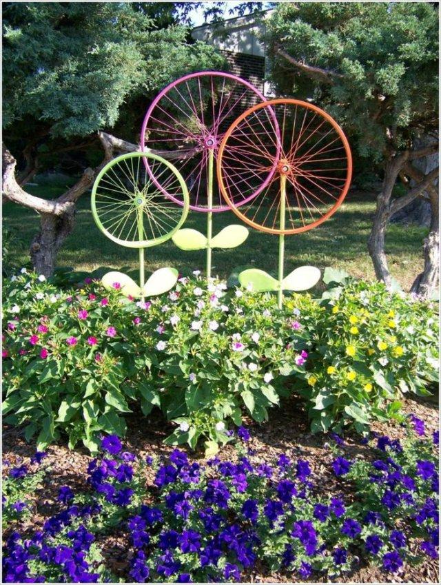 διάκοαμηση κήπου με ποδήλατα20