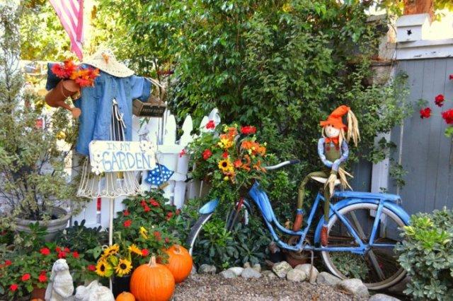 διάκοαμηση κήπου με ποδήλατα4