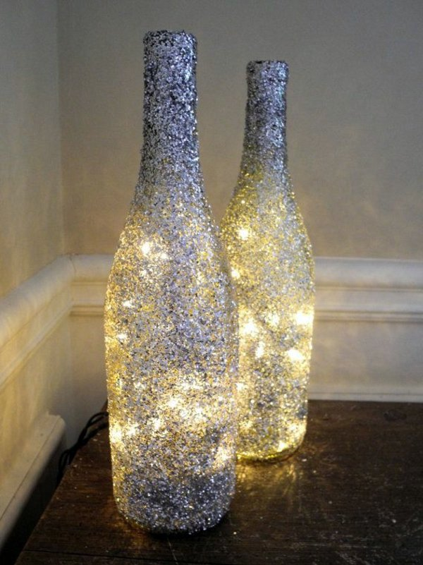 παλιά γυάλινα μπουκάλια σε απίθανα φωτιστικά15