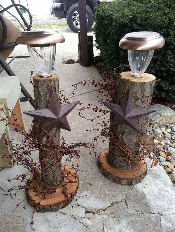 DIY έργα από κορμούς δέντρου4