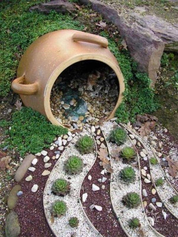Decor κήπου με πέτρες1