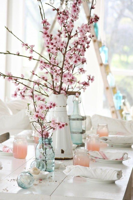 διακόσμηση με ανθισμένες κερασιές13