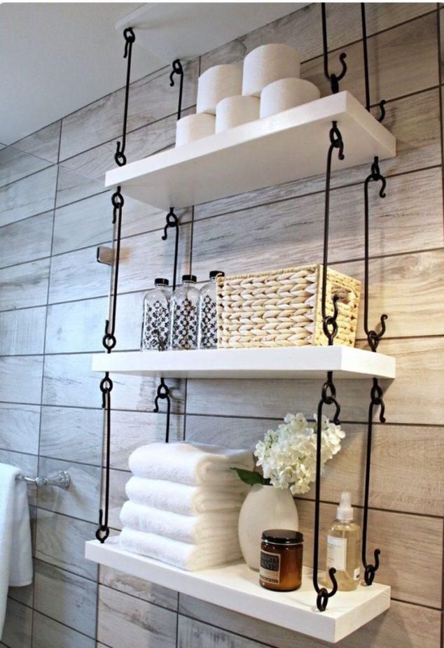 ιδέες αποθήκευση πετσετών για το μπάνιο11