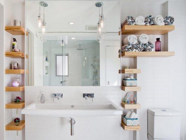 ιδέες αποθήκευση πετσετών για το μπάνιο5