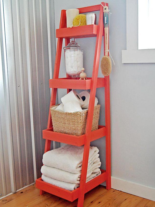 ιδέες αποθήκευση πετσετών για το μπάνιο8