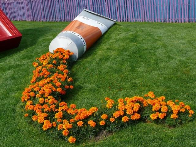 Καλιτεχνικές ιδέες διακόσμησης κήπου1
