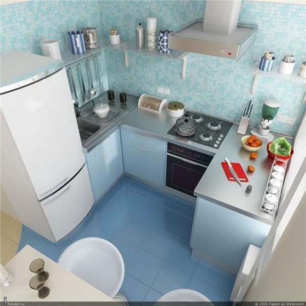 ιδέες για μικρές κουζίνες29