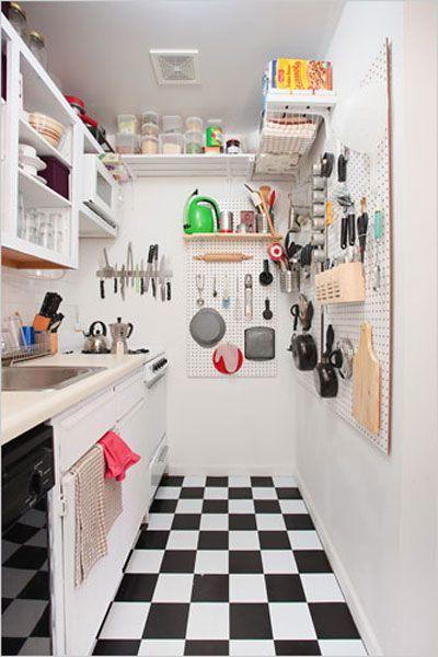 ιδέες για μικρές κουζίνες8
