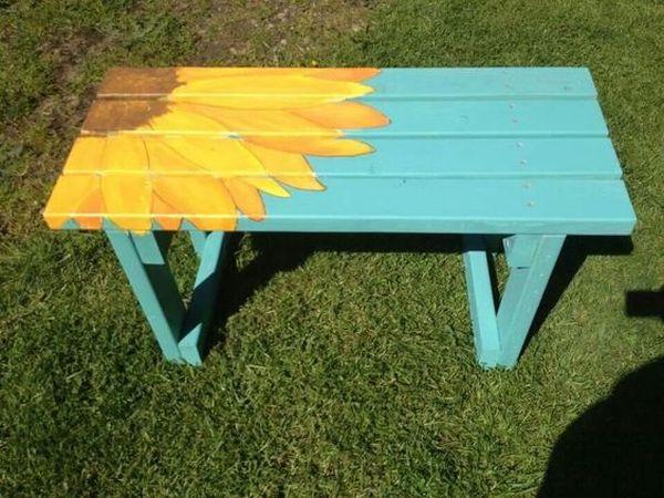 ζωγραφισμένα τραπέζια για τον κήπο5