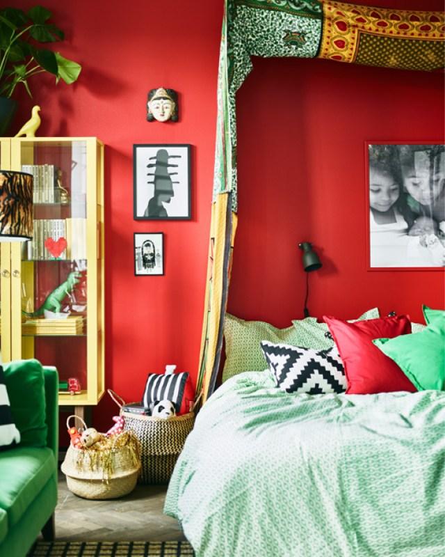 υπνοδωμάτιο μιας στυλίστριας4
