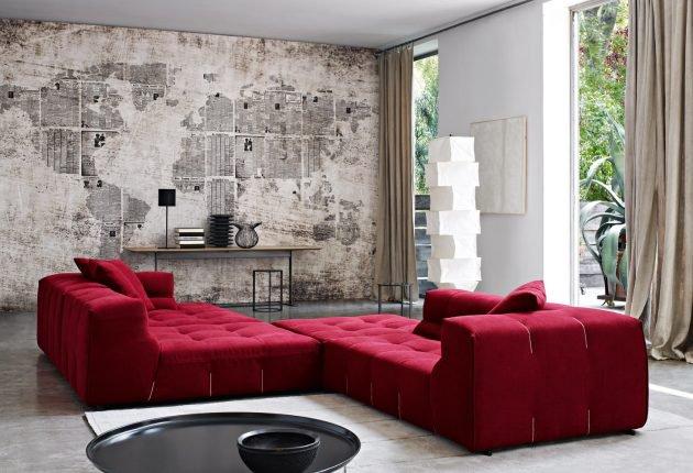 διακόσμηση με κόκκινο χρώμα13
