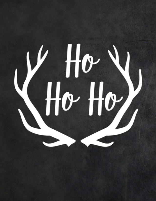 χριστουγεννιάτικη διακόσμηση σε άσπρο - μαύρο22