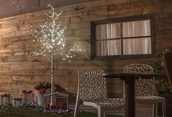 Χριστουγεννιάτικη διακόσμηση με φωτάκια LED2